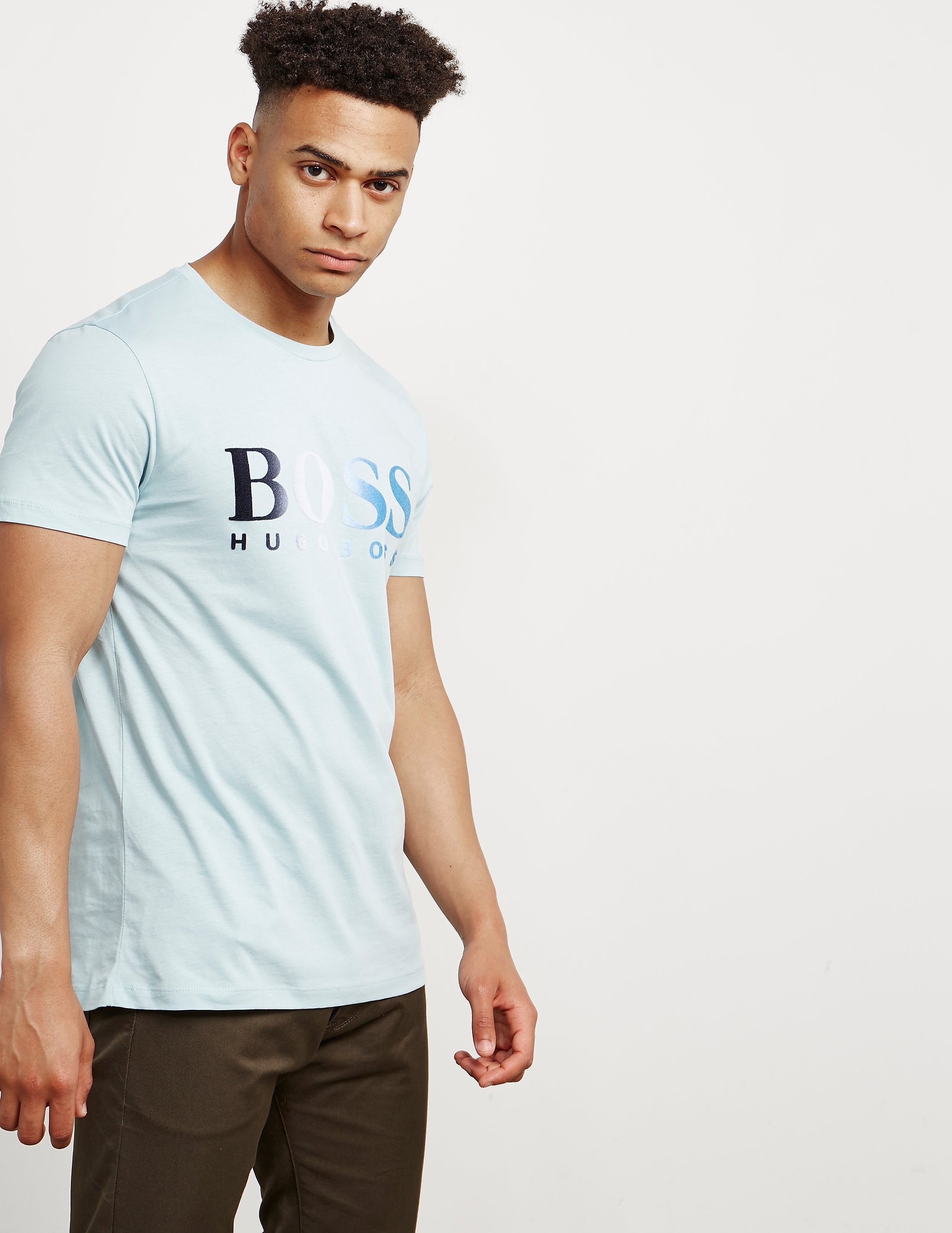 BOSS Topwork Logo Short Sleeve T-Shirt