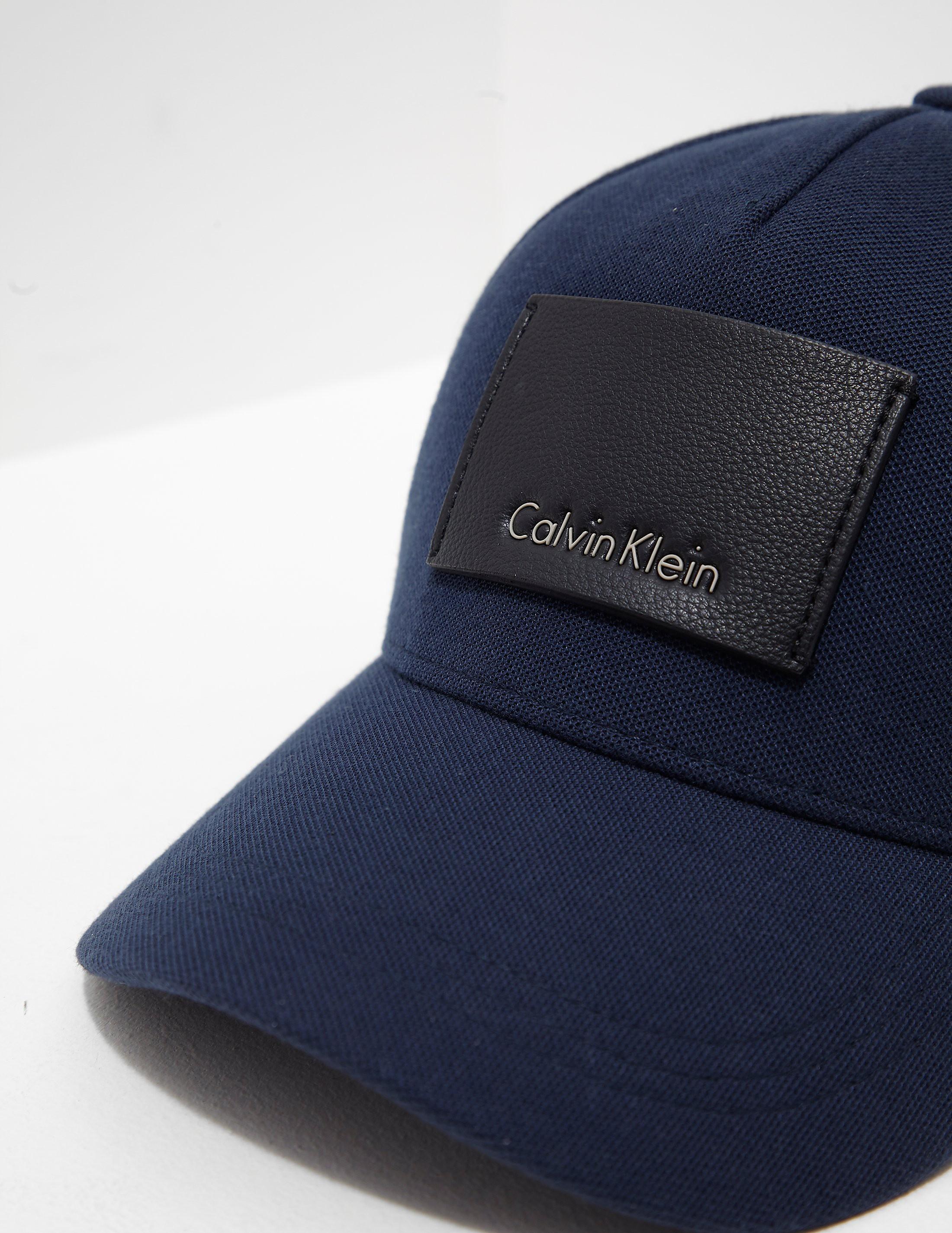 Calvin Klein Pique Patch Cap