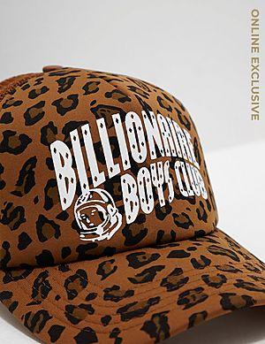 16176dfb7ce Billionaire Boys Club Leopard Trucker Cap Billionaire Boys Club Leopard  Trucker Cap