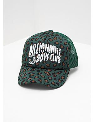 d346bb9b093 Billionaire Boys Club Leopard Trucker Cap ...