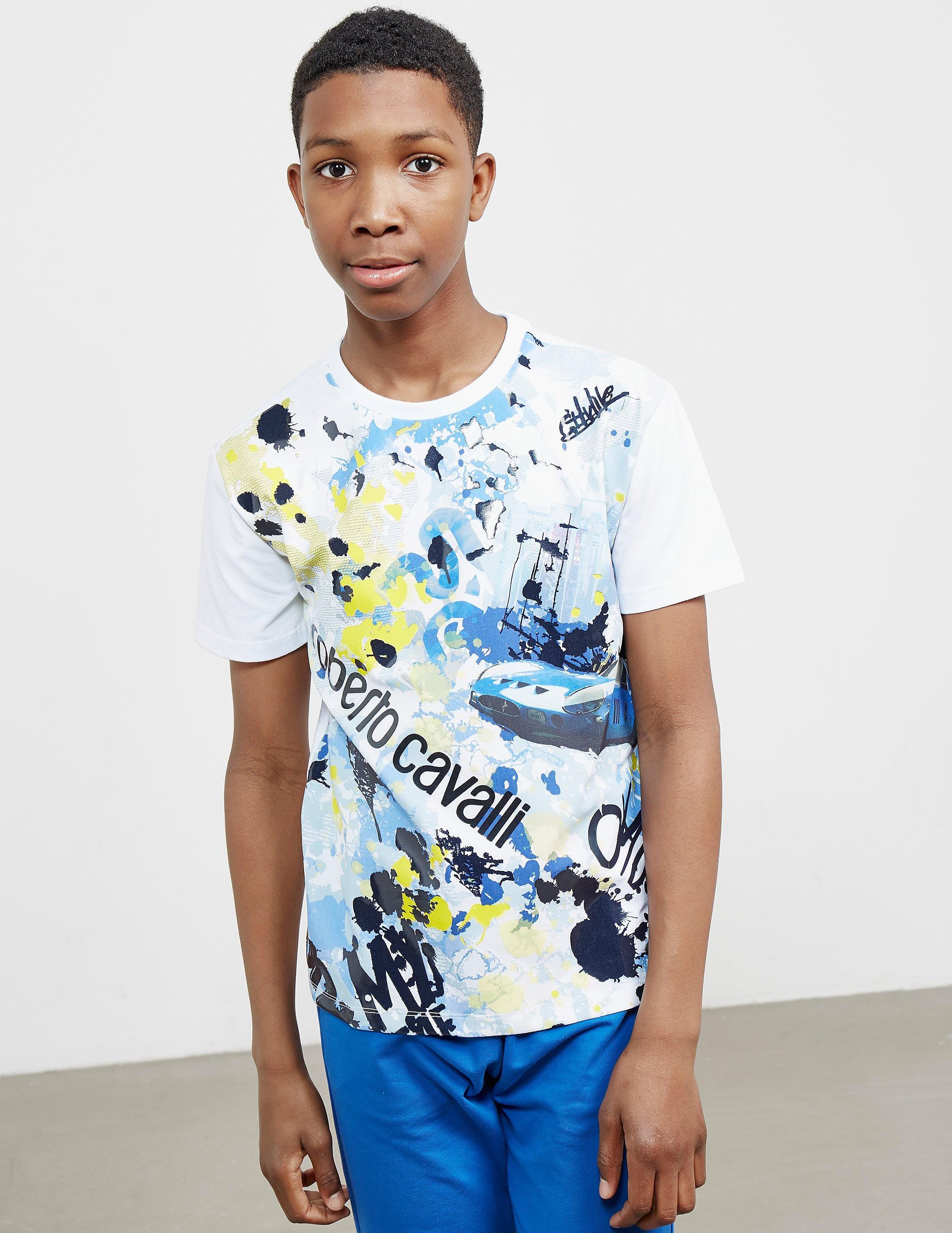 Just Cavalli Art City Short Sleeve T-Shirt
