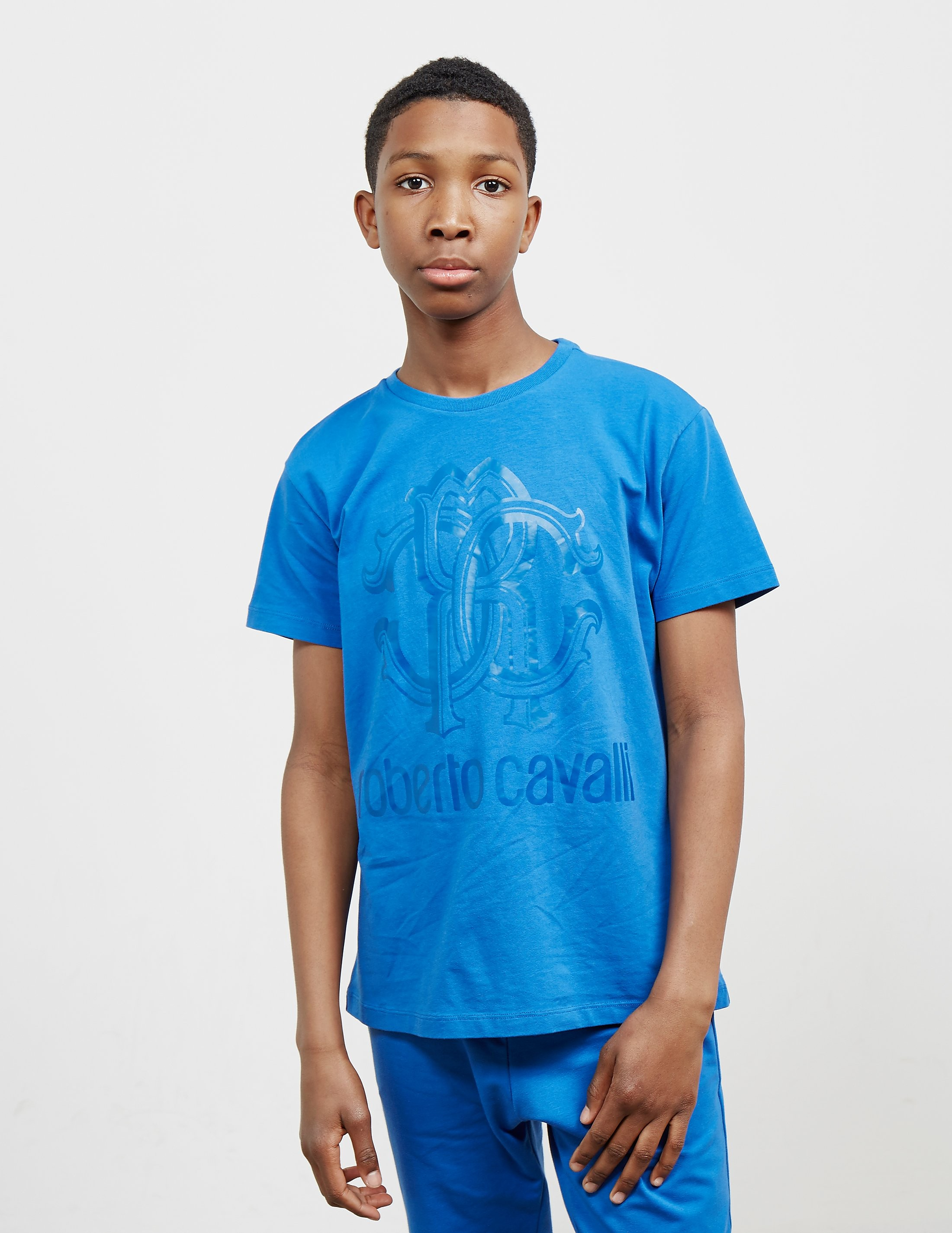 Just Cavalli Monogram Short Sleeve T-Shirt