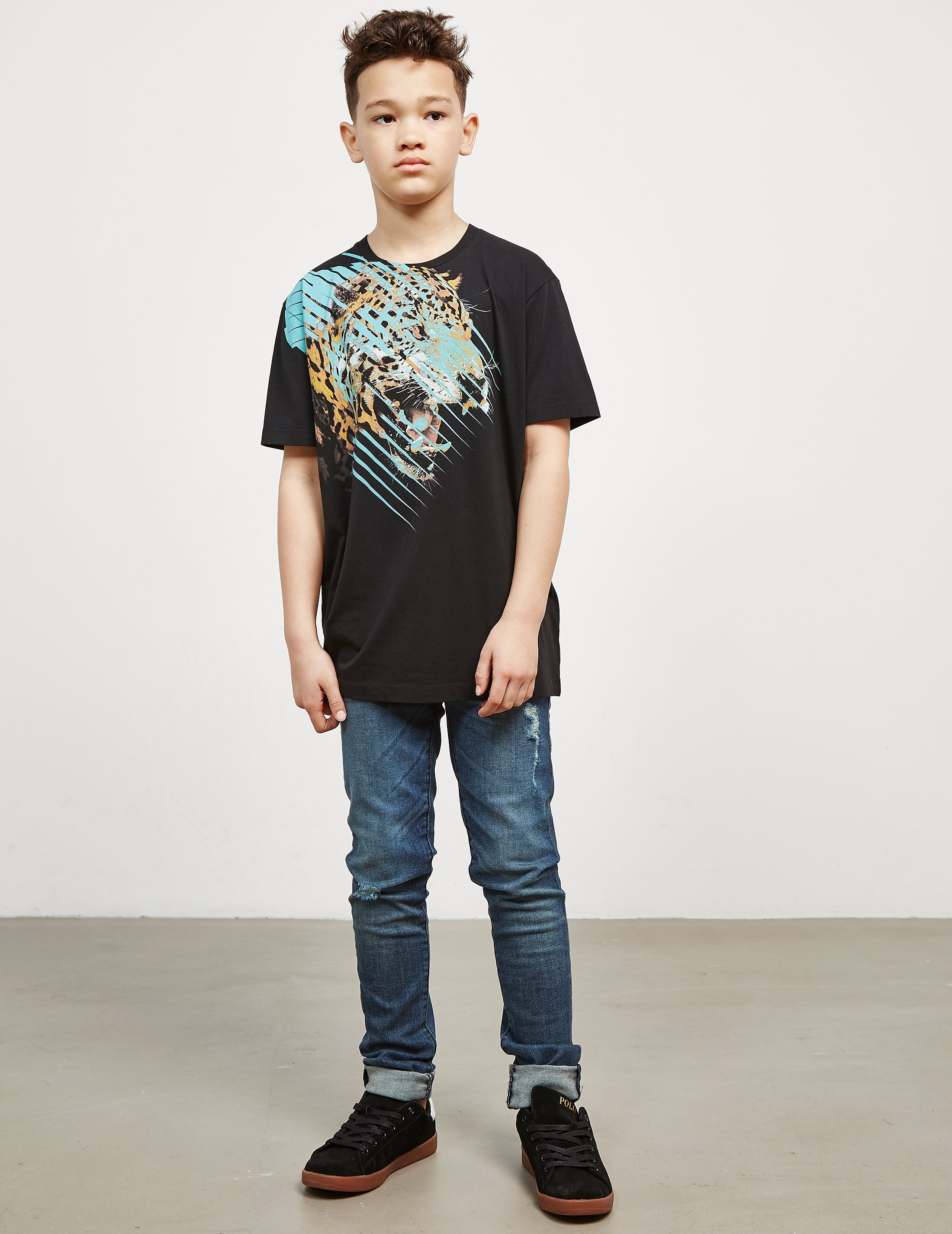 Marcelo Burlon Tiger Short Sleeve T-Shirt