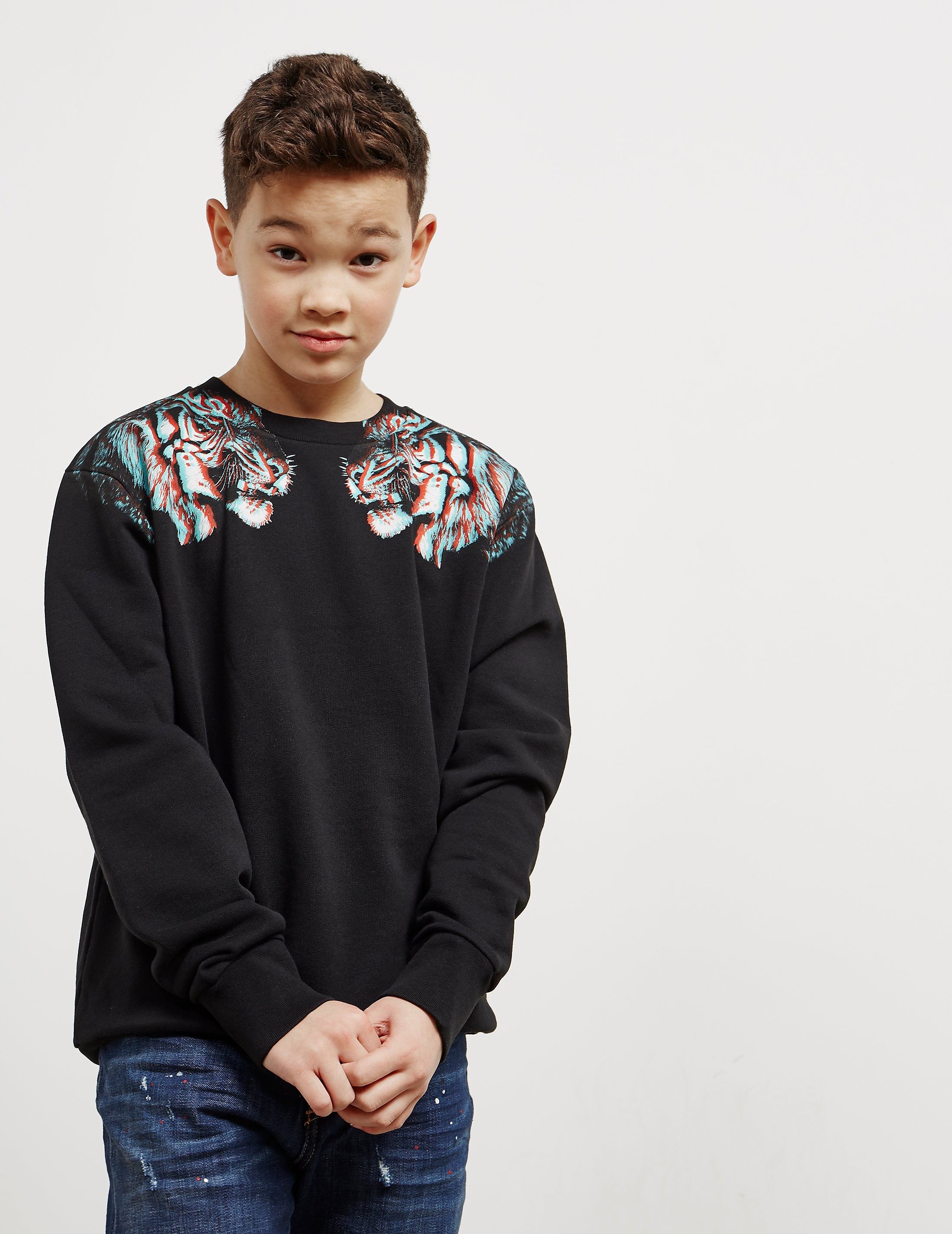 Marcelo Burlon 3D Tiger Sweatshirt