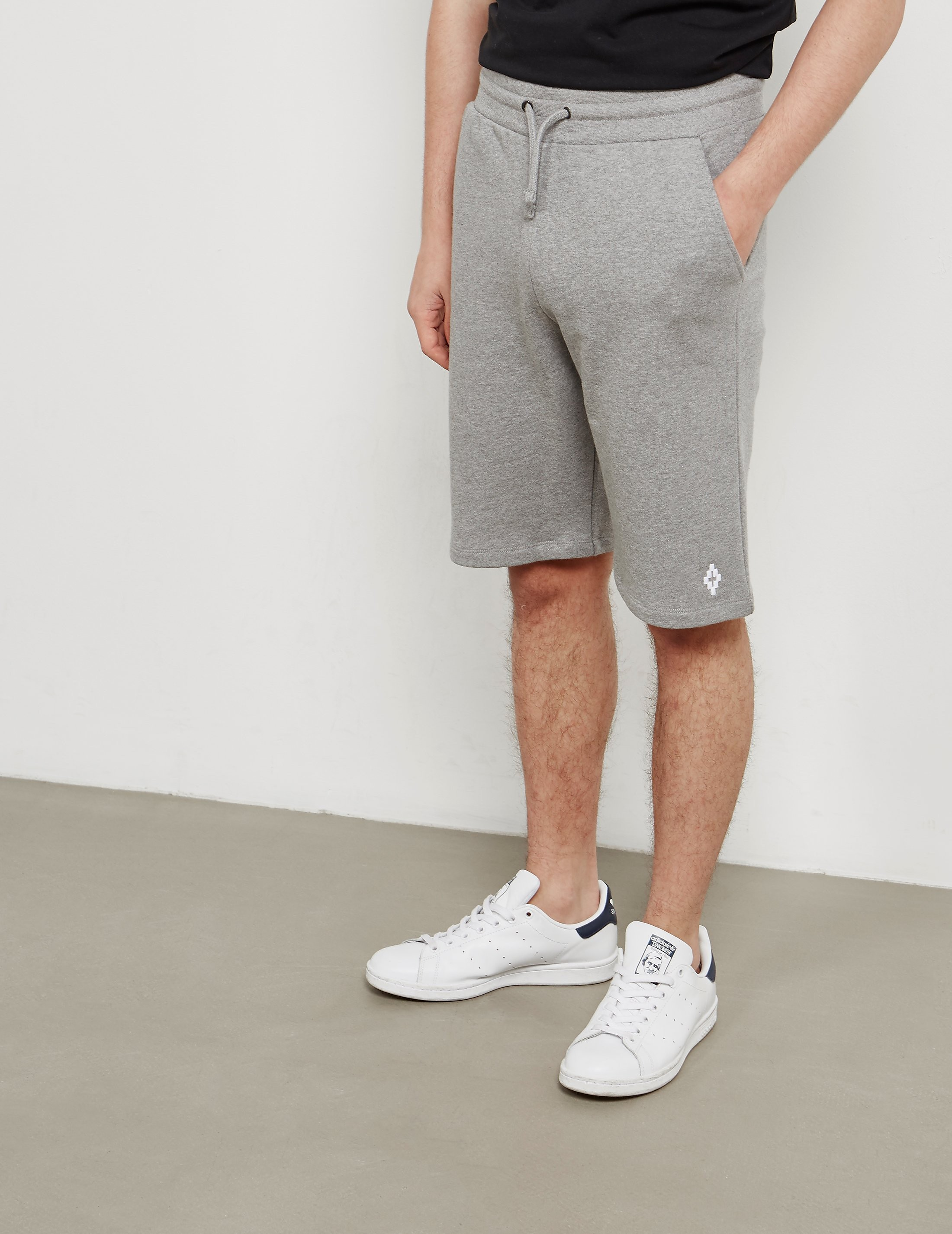 Marcelo Burlon Basic Fleece Shorts