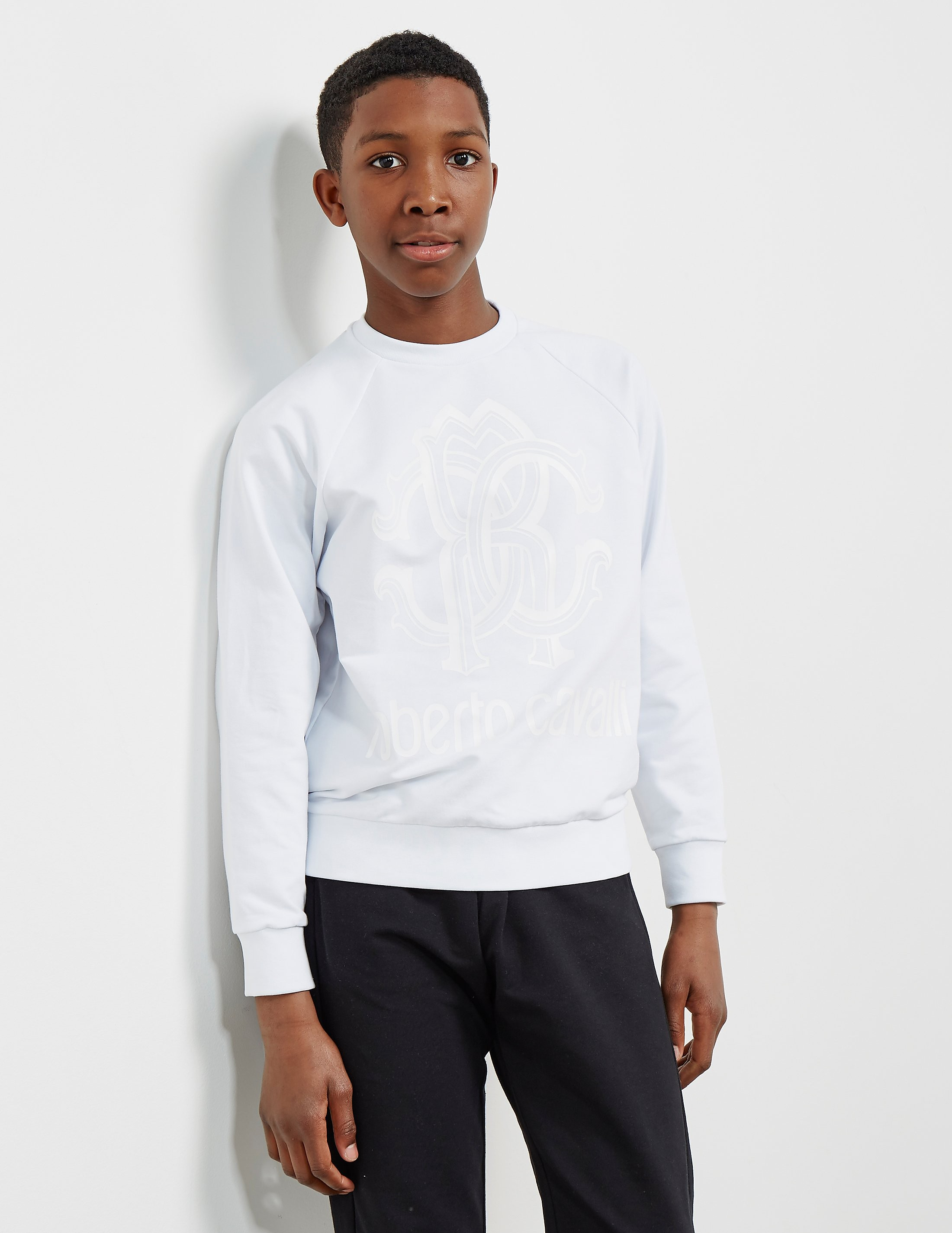 Just Cavalli Crew Neck Sweatshirt