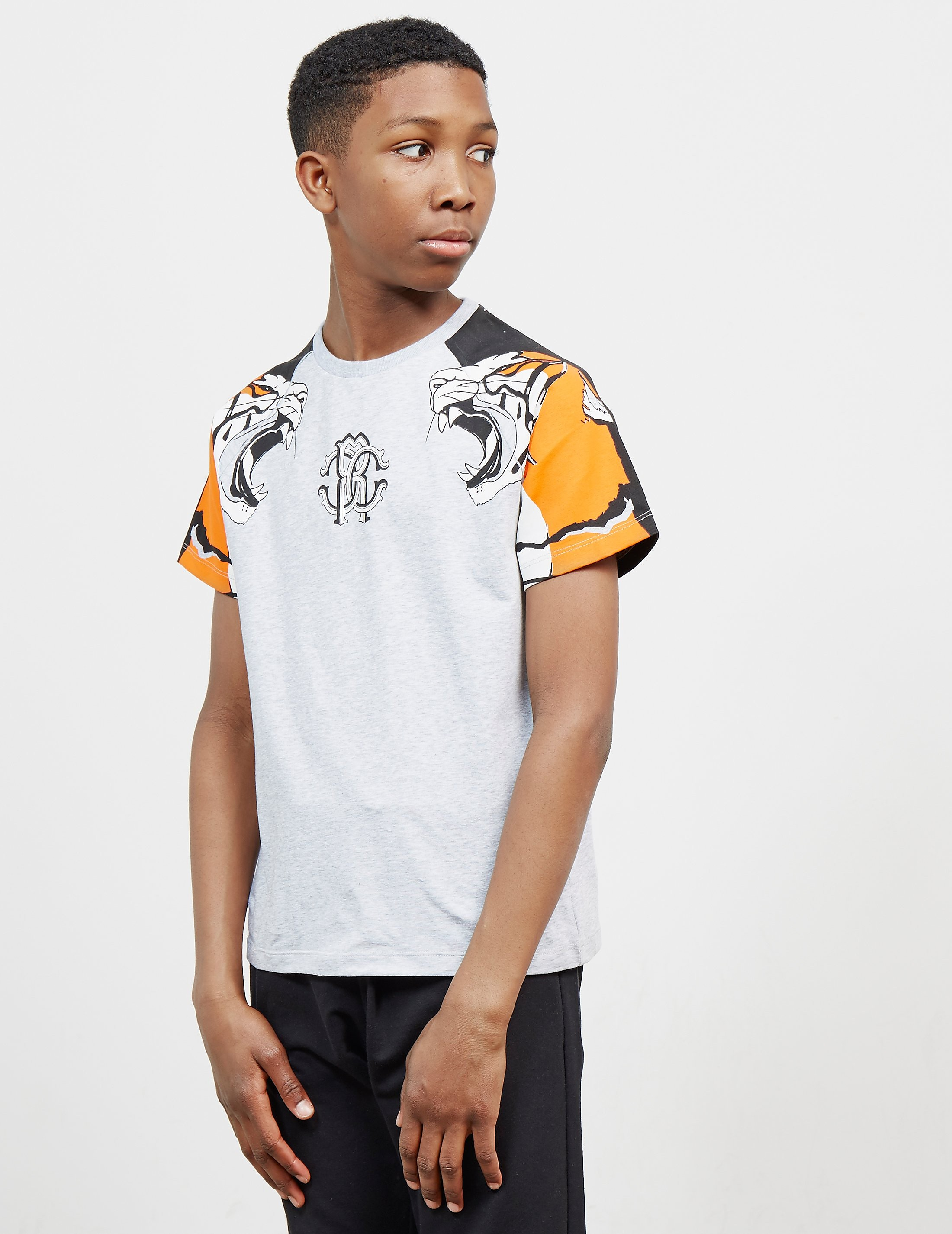 Just Cavalli Tiger Short Sleeve T-Shirt