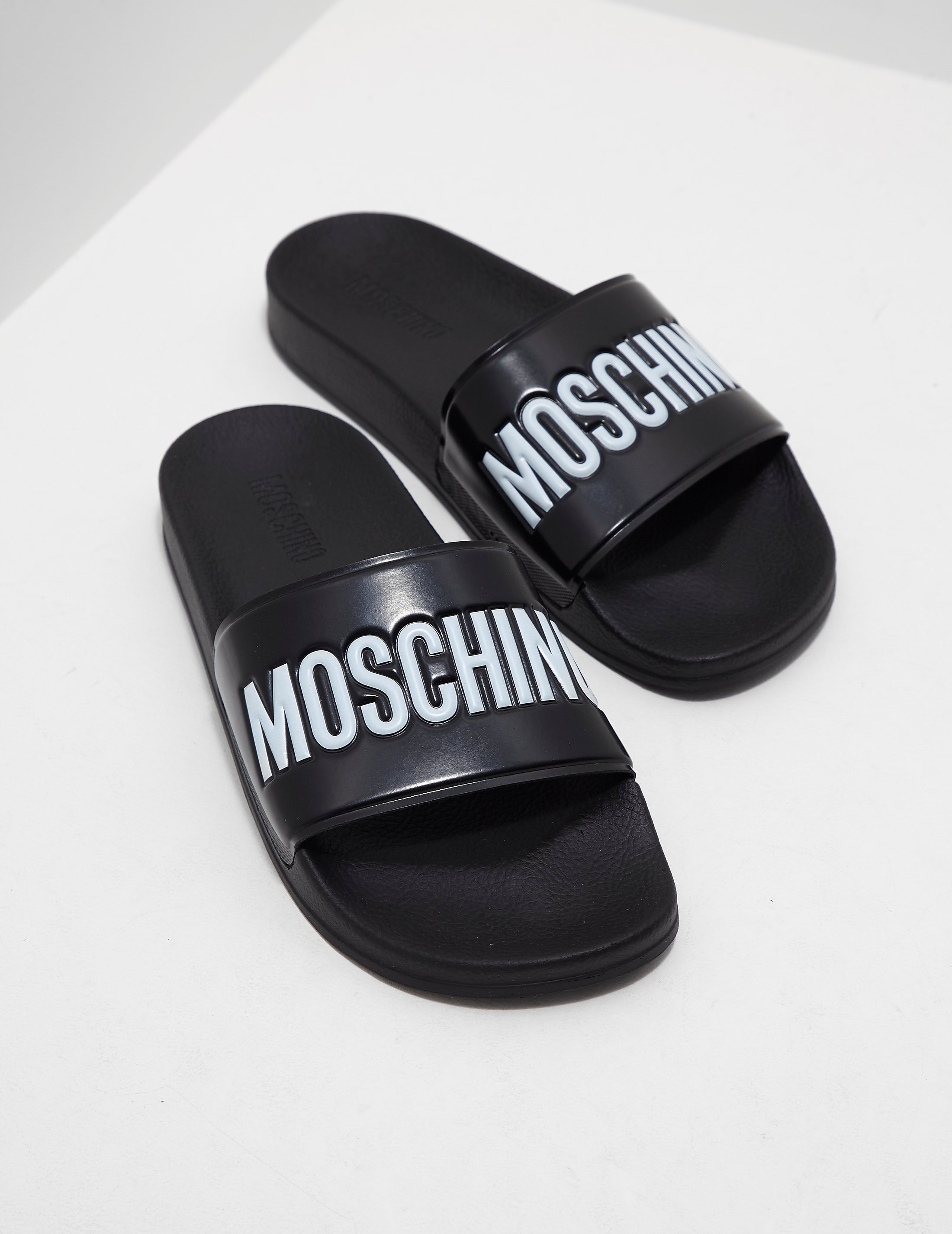 Moschino Print Slides
