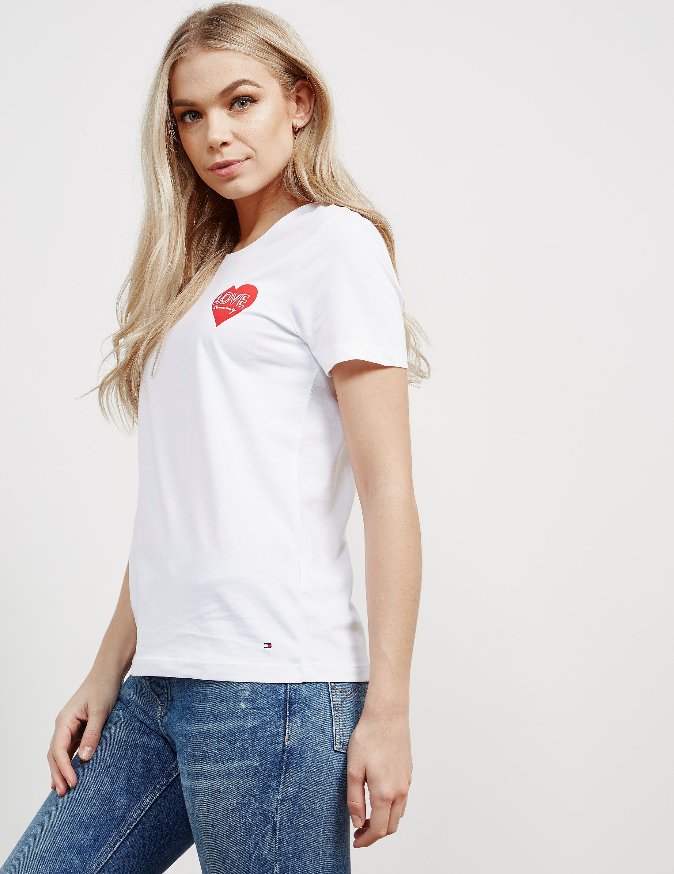Tommy Hilfiger Small Heart Short Sleeve T-Shirt