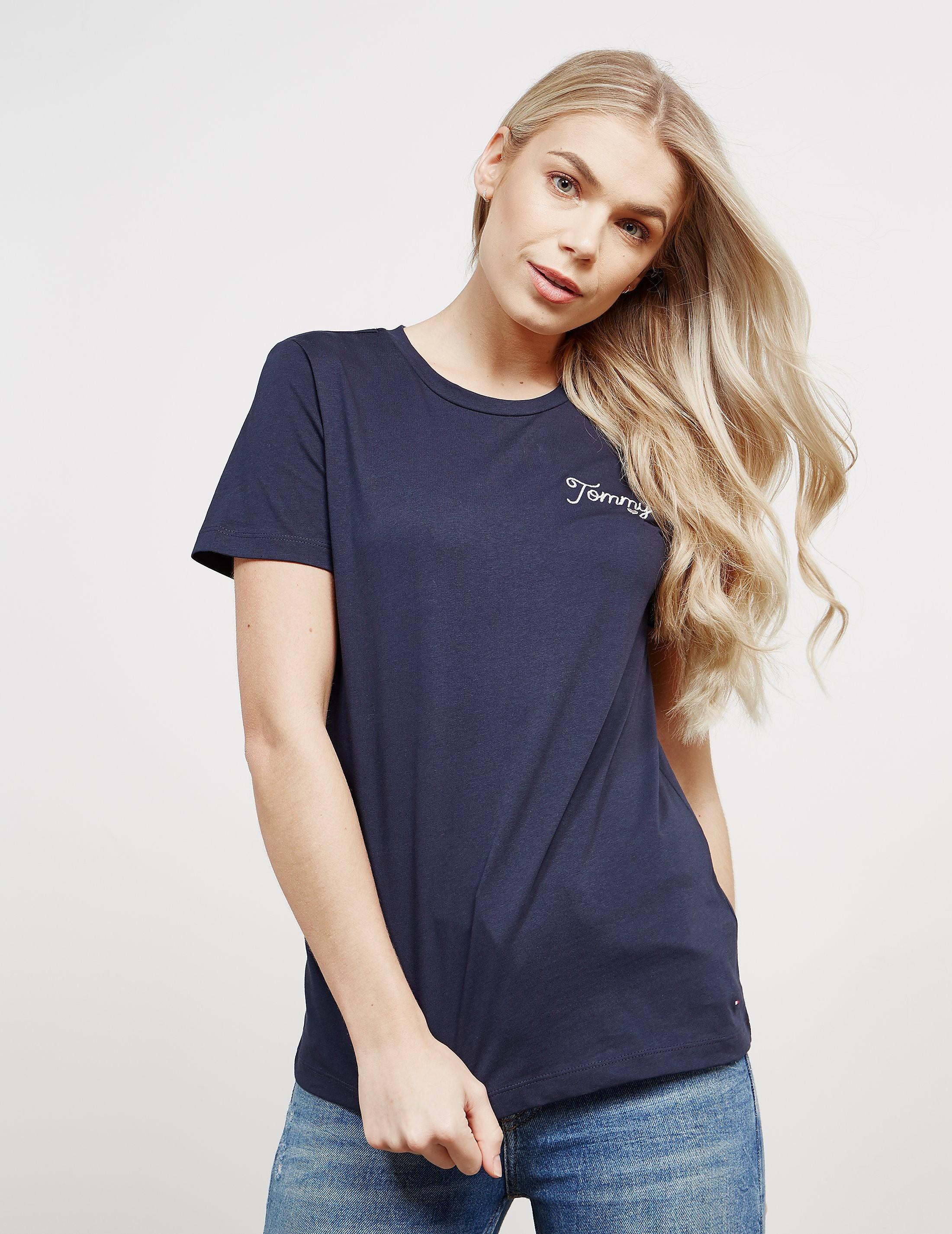 Tommy Hilfiger Small Logo Short Sleeve T-Shirt