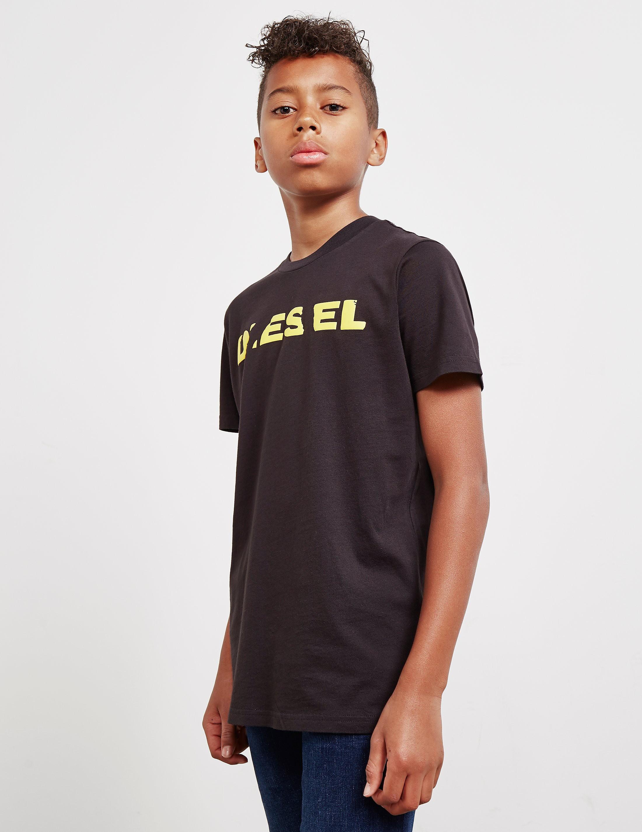 Diesel Broken Logo Short Sleeve T-Shirt