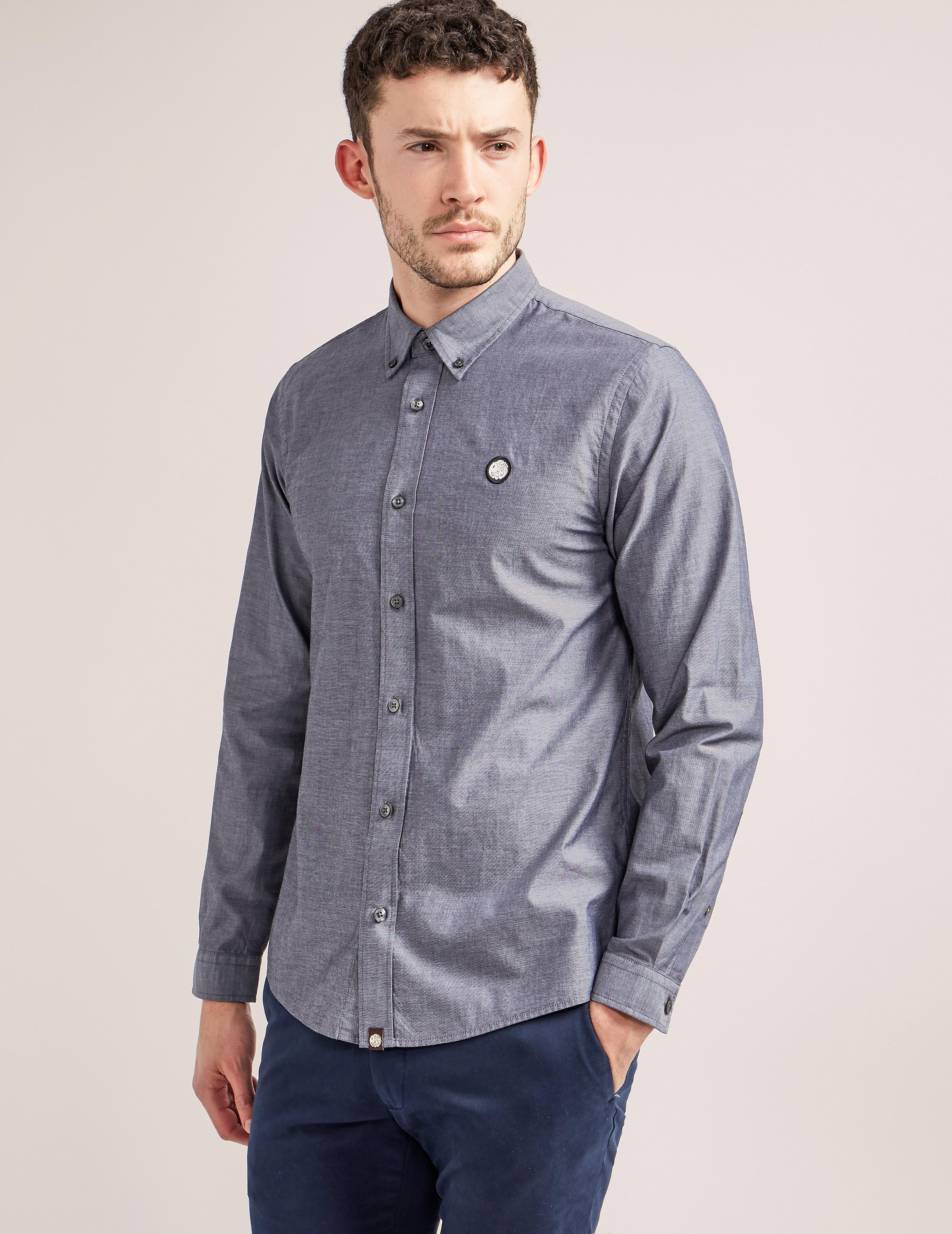 Pretty Green Oldbury Oxford Long Sleeve Shirt