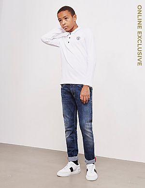 6a2c03dfb915 KENZO Tiger Long Sleeve Polo Shirt KENZO Tiger Long Sleeve Polo Shirt