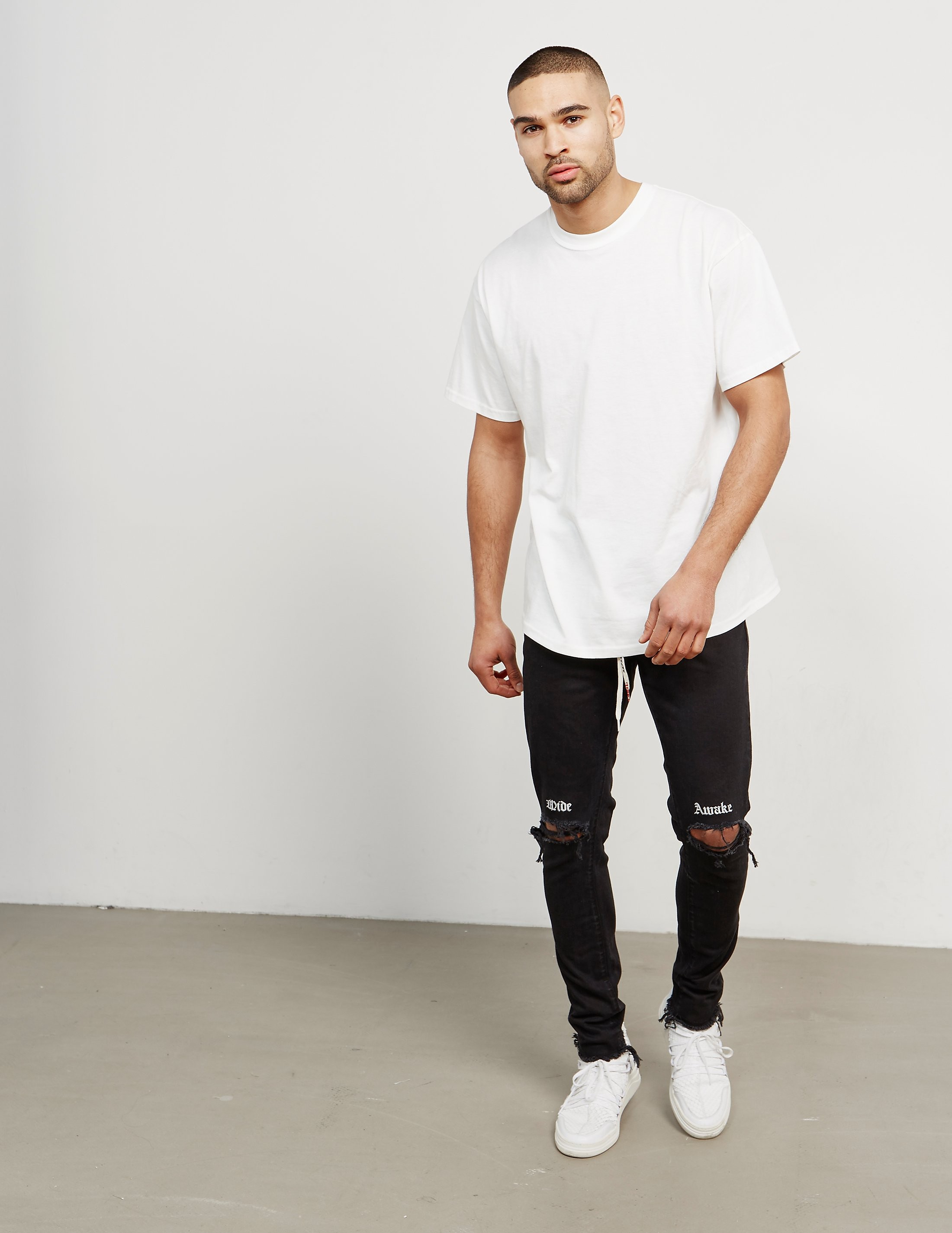 Represent Wide Awake Destroyed Jeans - Online Exclusive
