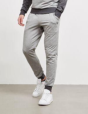 505f40e331ec Emporio Armani Logo Cuffed Fleece Pants ...