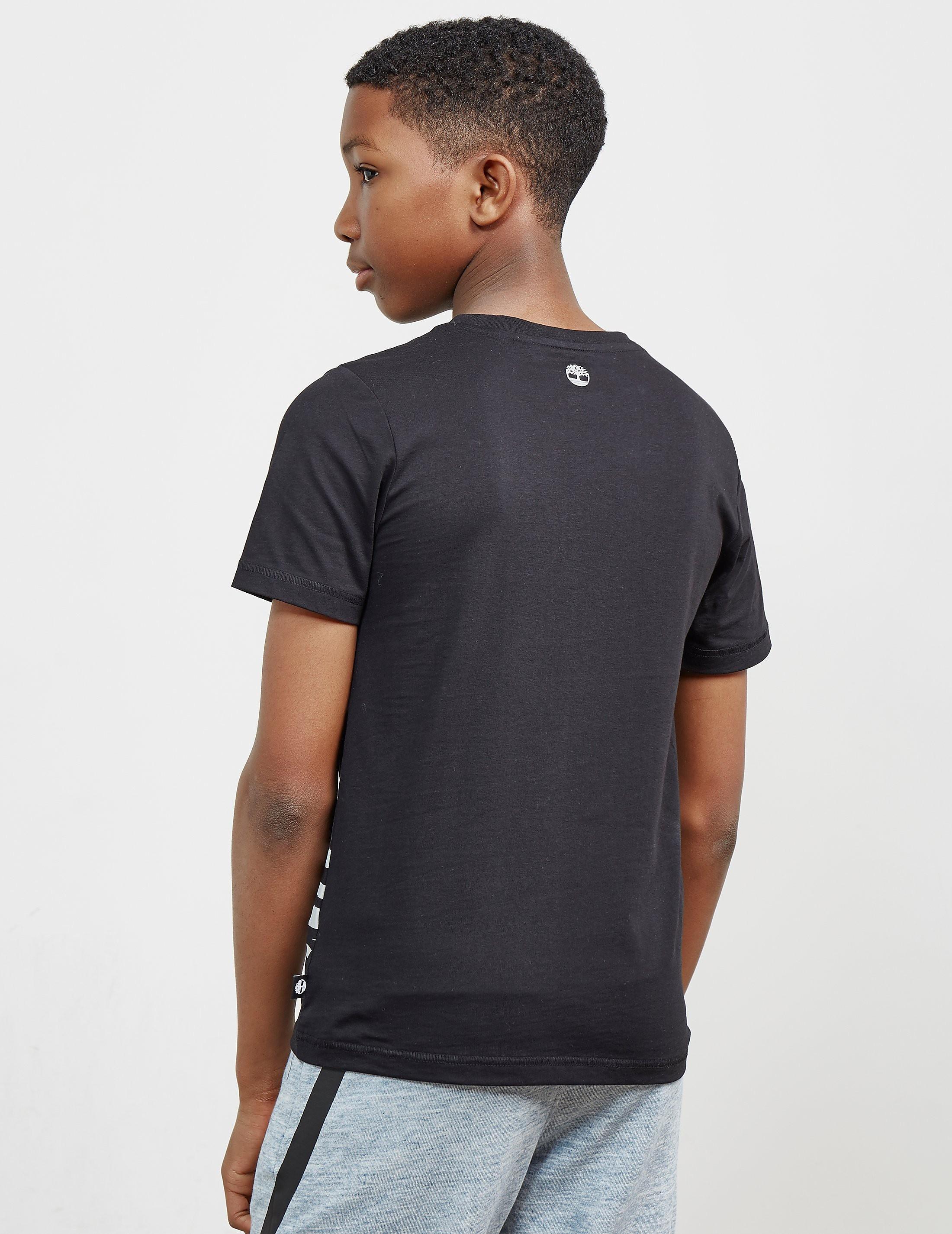 Timberland Line Logo Short Sleeve T-Shirt