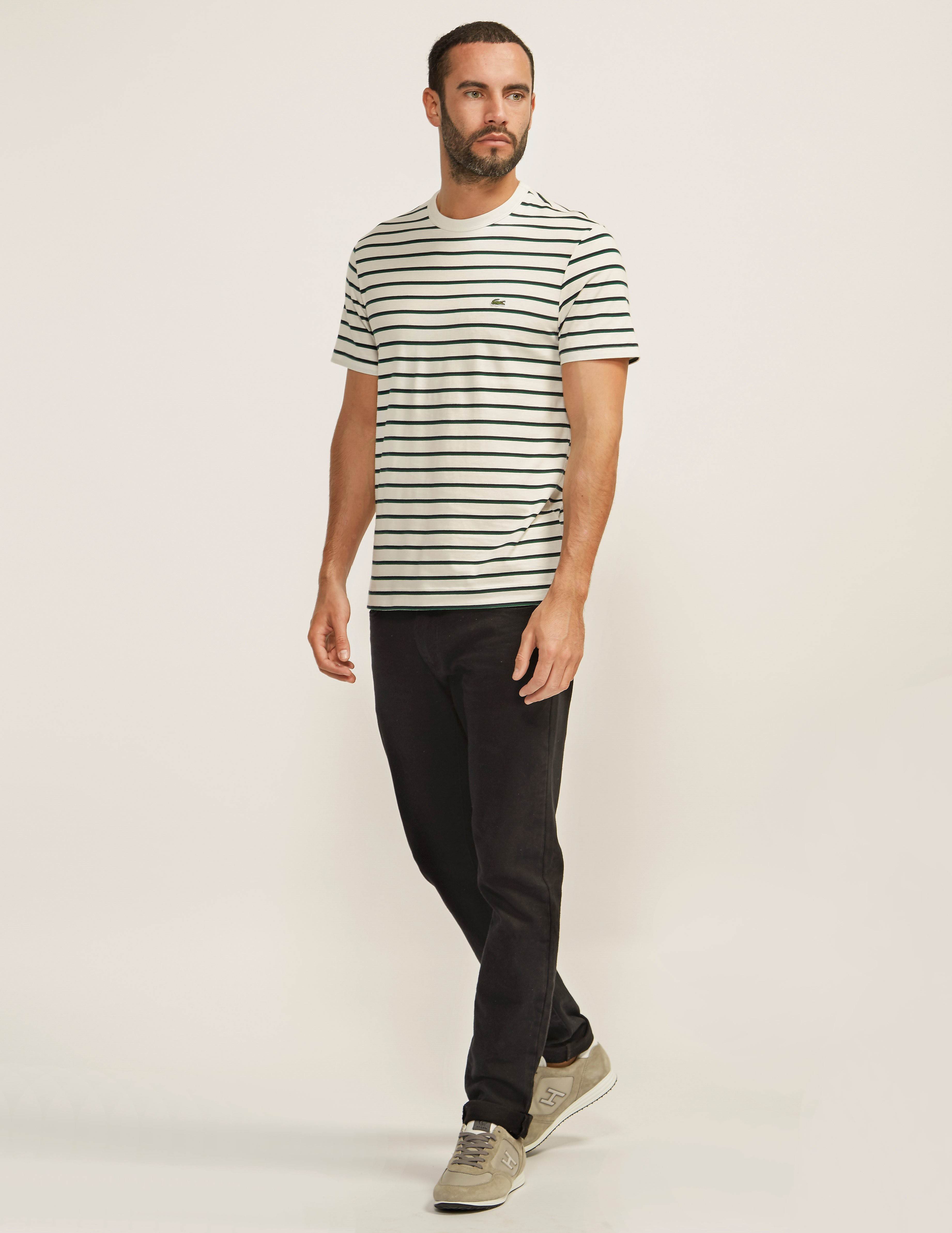 Lacoste Solid Stripe T-Shirt