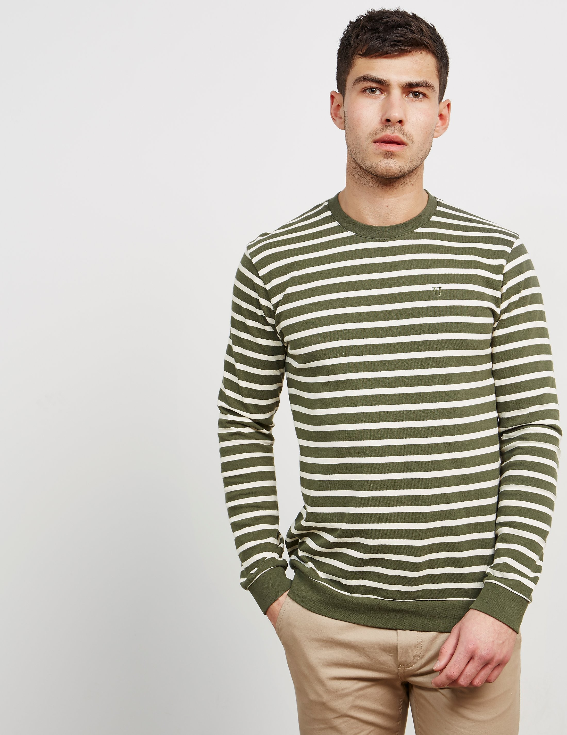 Les Deux Stripe Long Sleeve T-Shirt