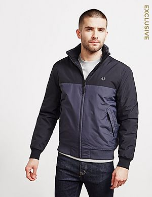 size 40 bd18e e12a7 Fred Perry Colour Block Brentham Jacket - Exclusive ...