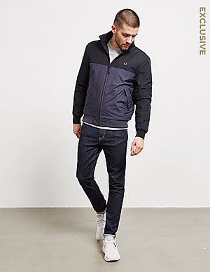 7815b8aad74a ... Fred Perry Colour Block Brentham Jacket - Exclusive