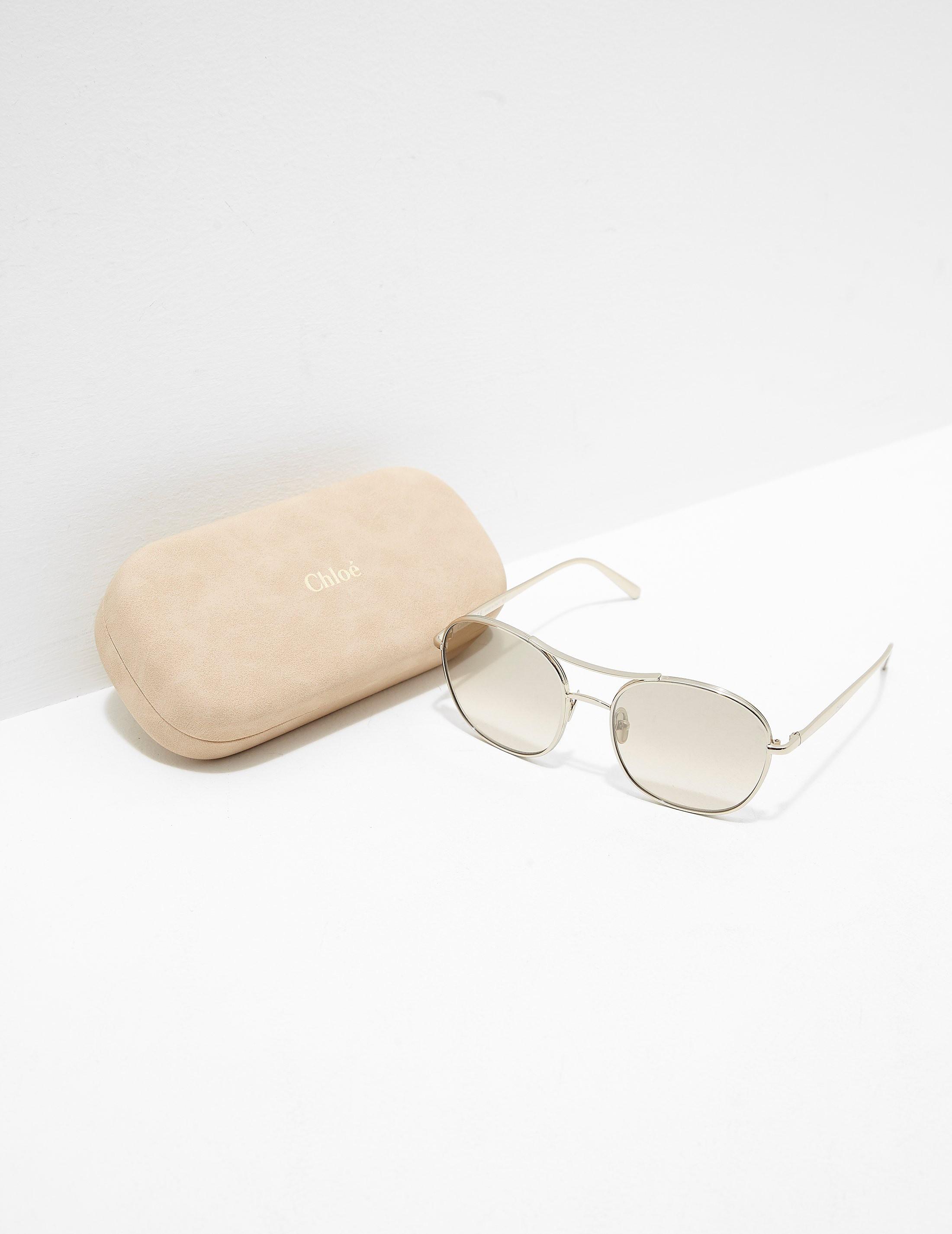 Chloe Metal Sunglasses