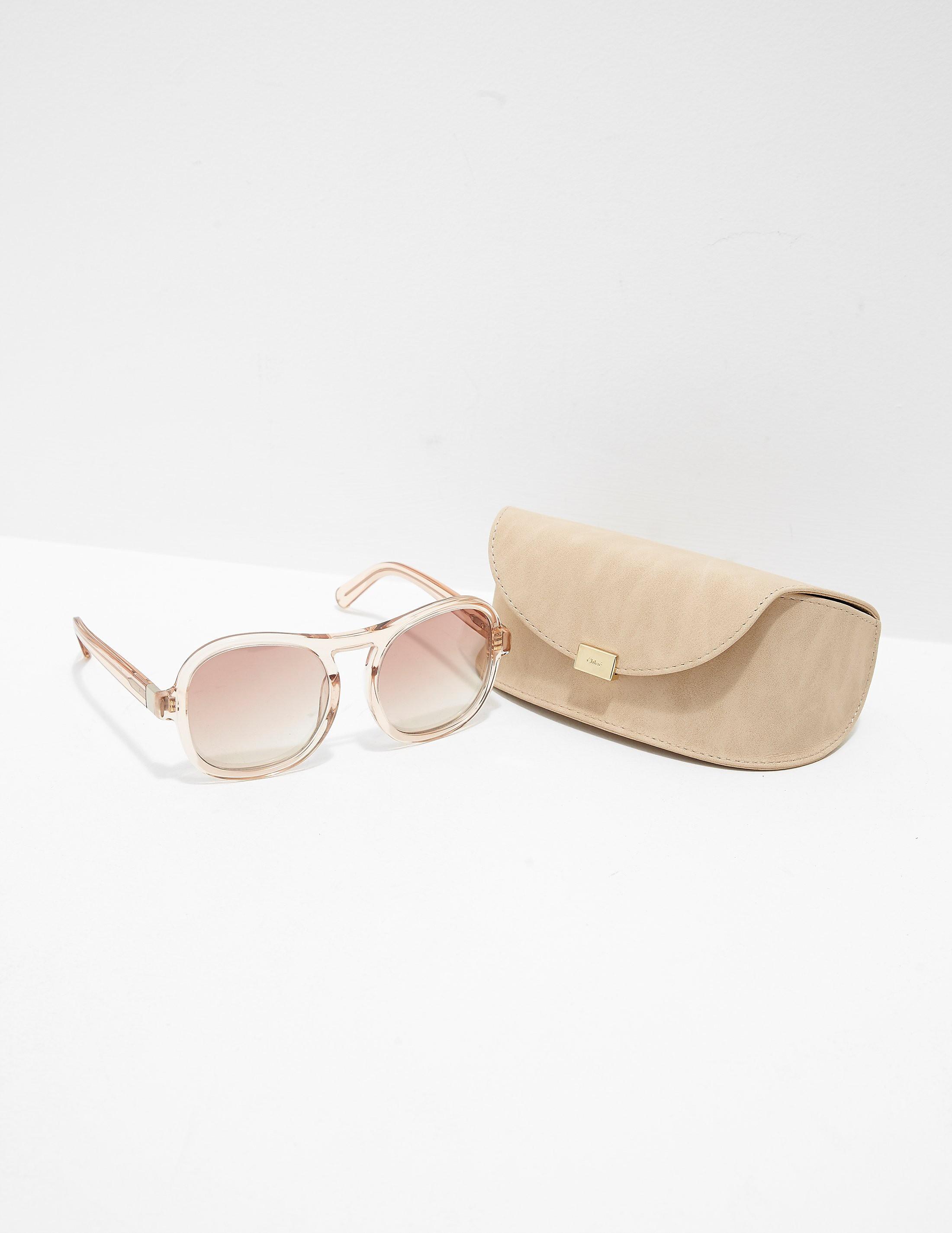 Chloe Plastic Sunglasses