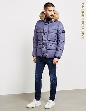 82cf152af84e ... Stone Island Resin Padded Jacket - Online Exclusive