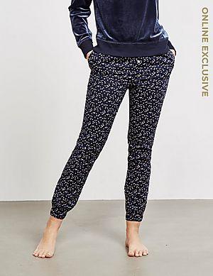 c368dd68220d Calvin Klein Underwear Star Print Cuffed Fleece Pants - Online Exclusive ...