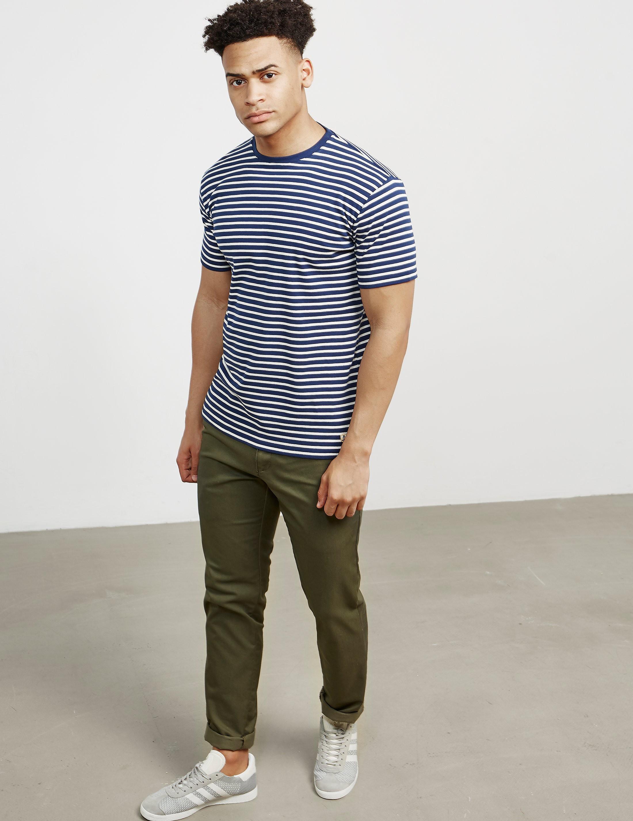 Armor Lux Stripe Heritage Short Sleeve T-Shirt