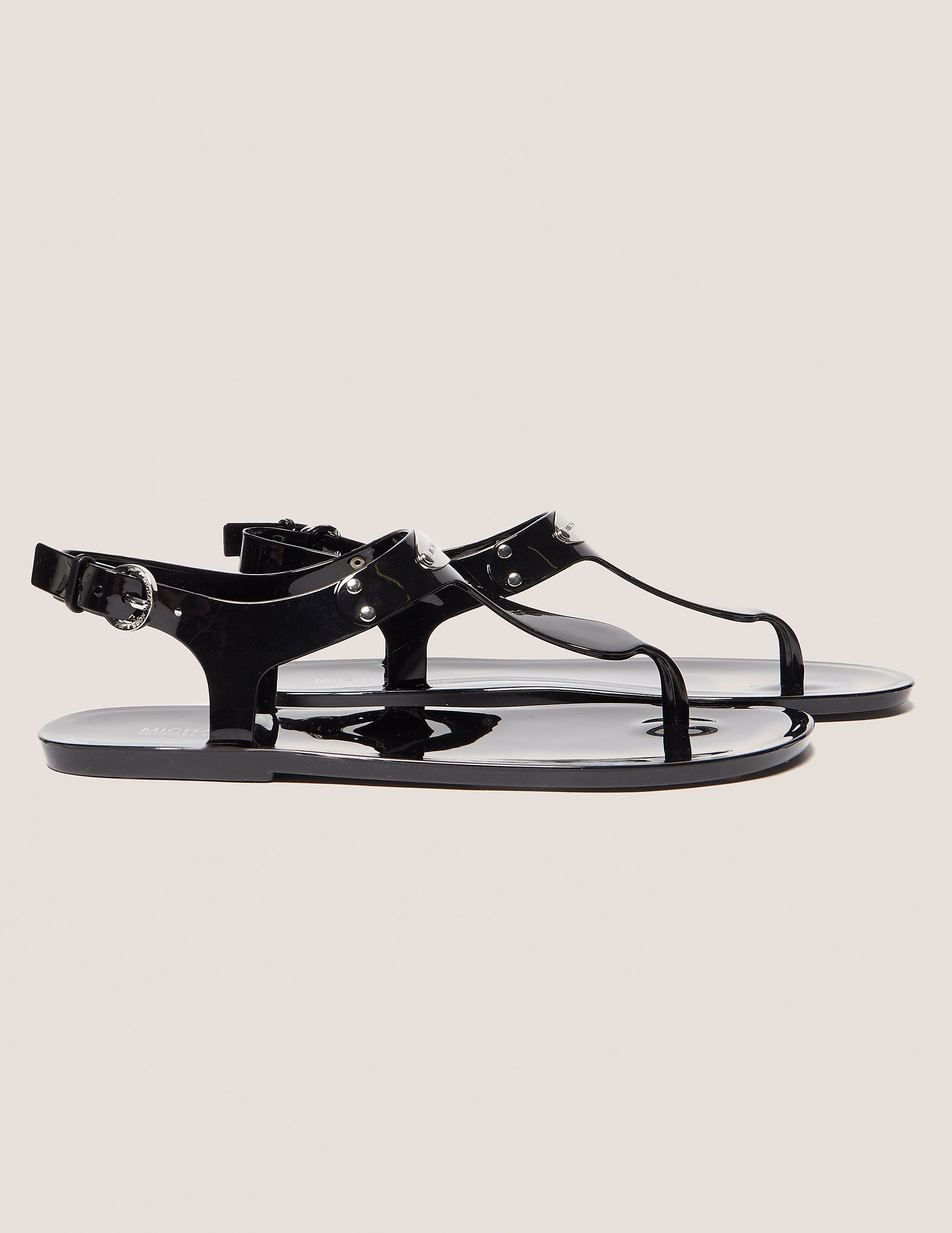 Michael Kors Plate Jelly Sandals