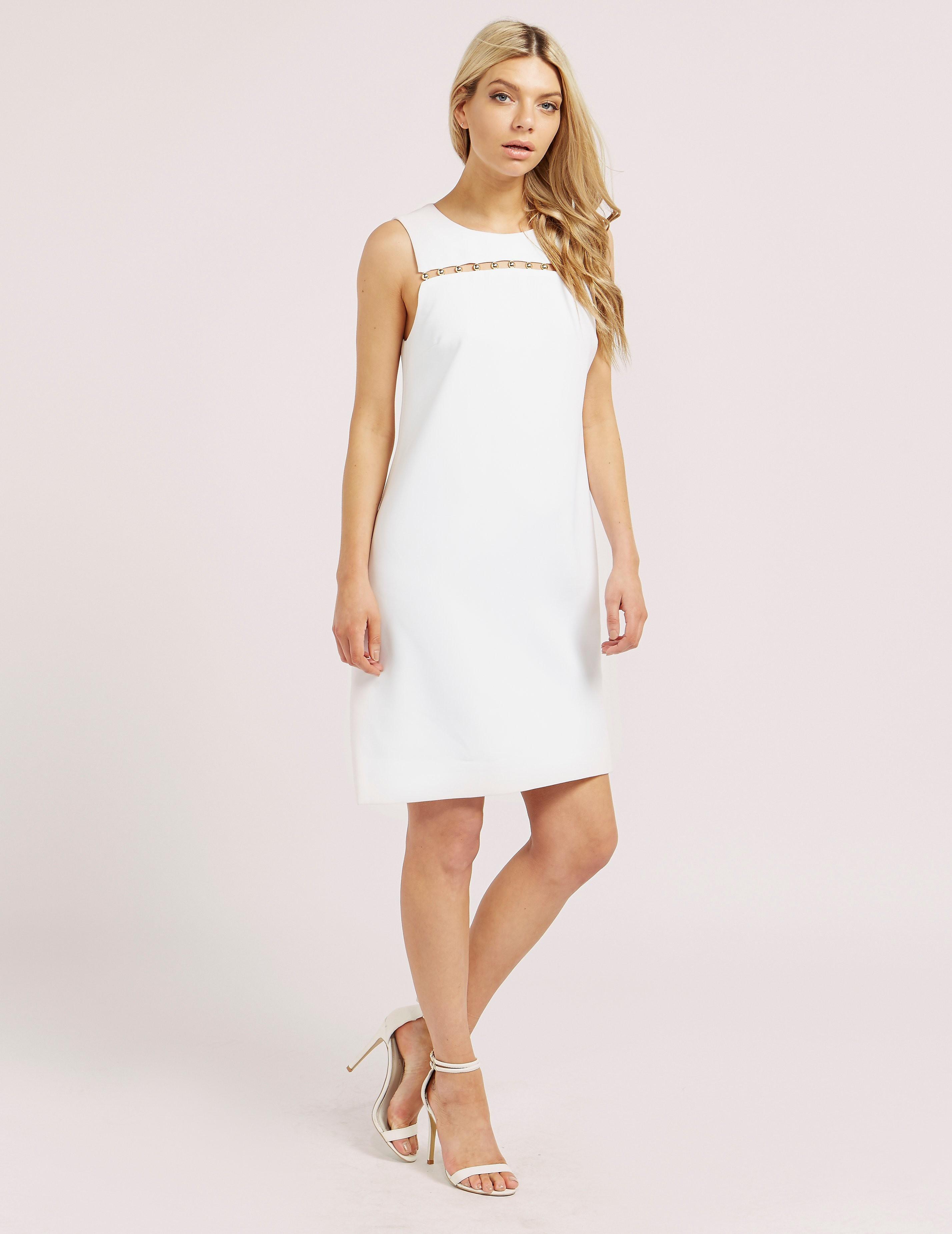 Michael Kors Bead Detail Dress