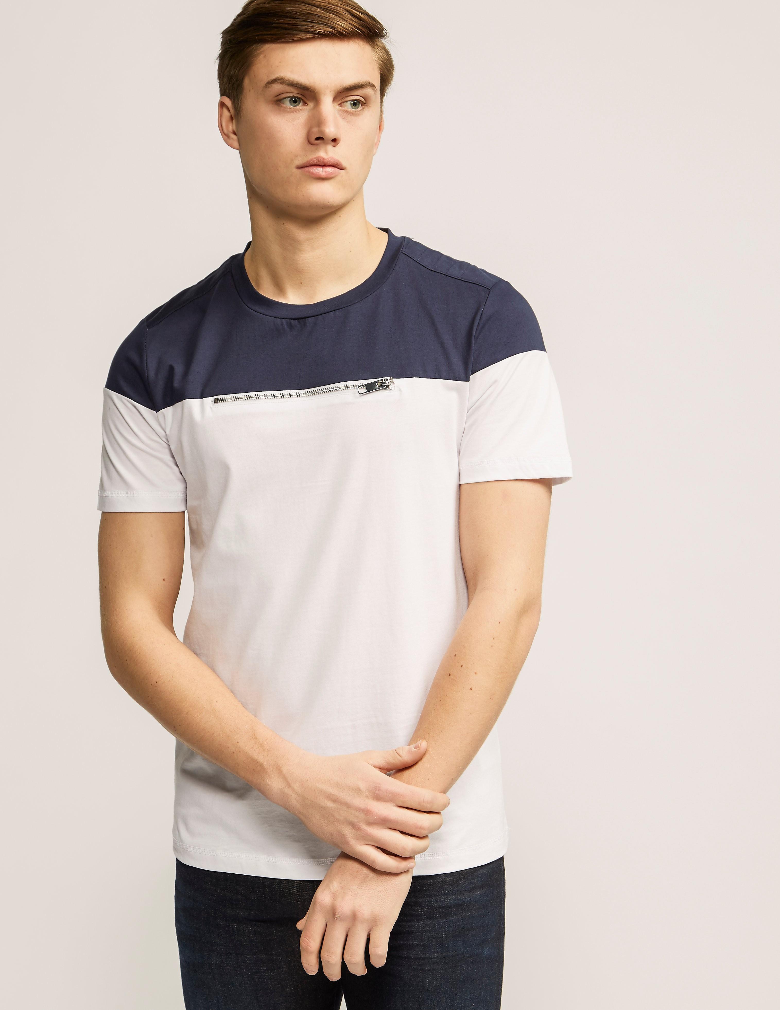 Antony Morato Chest Zip T-Shirt