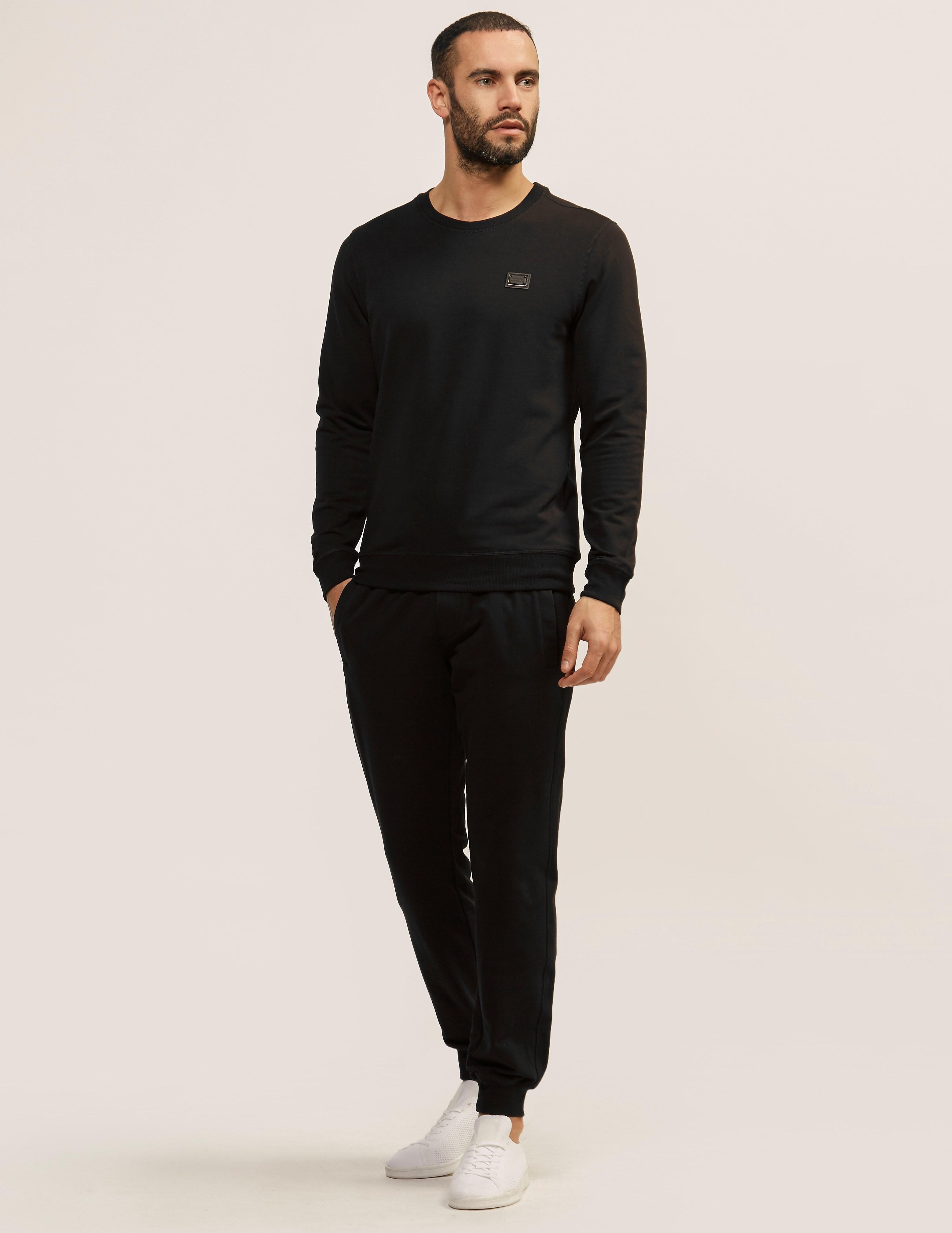 Antony Morato Plaque Crew Neck Sweatshirt