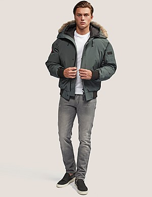 canada goose jackets coats men tessuti. Black Bedroom Furniture Sets. Home Design Ideas