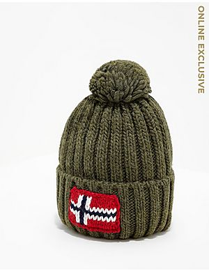 1bcb67bab2a Napapijri Semiury Bobble Hat ...