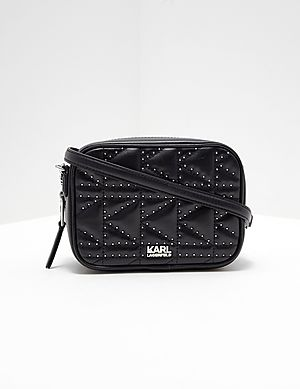 2abb04ee7a99 Karl Lagerfeld Studded Camera Shoulder Bag ...