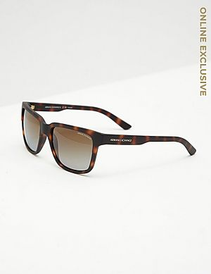 40a2226ed06 Armani Exchange Square Sunglasses Armani Exchange Square Sunglasses