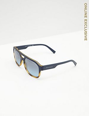 8de42641541 ... Armani Exchange Bold Aviator Sunglasses - Online Exclusive