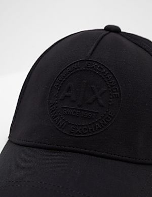 4e7dcc4a69794 Armani Exchange Embroidered Logo Cap Armani Exchange Embroidered Logo Cap