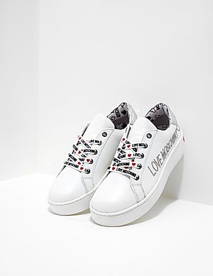 f7c5972692c2 Love Moschino Diamante Trainers ...