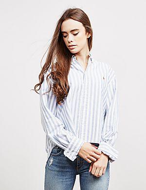 678d5a2680 Polo Ralph Lauren Crop Long Sleeve Shirt ...