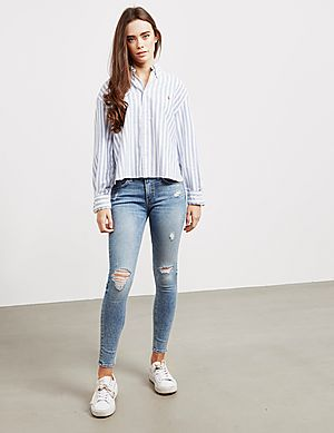 2075cafbe4 ... Polo Ralph Lauren Crop Long Sleeve Shirt