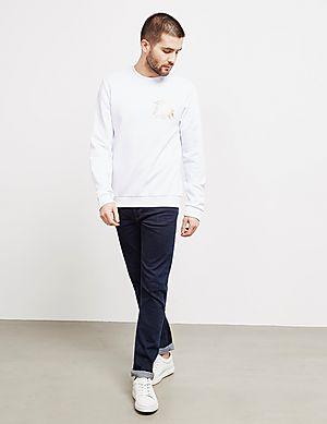 25c125983610 Versace Jeans Foil Logo Sweatshirt Versace Jeans Foil Logo Sweatshirt