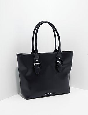 988b45a57c7 Armani Exchange Buckle Shopper Bag ...