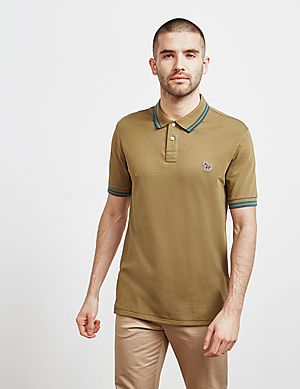 4e67f1590ae PS Paul Smith Tipped Short Sleeve Polo Shirt ...