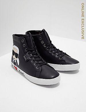 fd9312854 Karl Lagerfeld Skool Ikon Trainers - Online Exclusive ...
