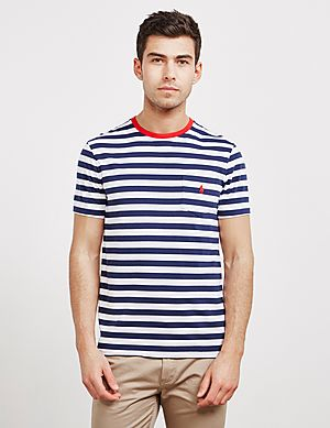 a5c64f2895a Polo Ralph Lauren Stripe Short Sleeve T-Shirt ...