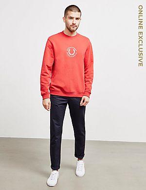 f0825edfe3 Fred Perry Global Branded Sweatshirt Fred Perry Global Branded Sweatshirt