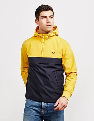 f91538d550cb Fred Perry Half Zip Panelled Jacket ...
