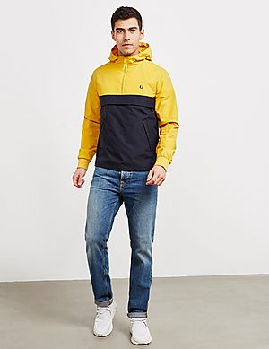 88ebe678383d Fred Perry Half Zip Panelled Jacket Fred Perry Half Zip Panelled Jacket